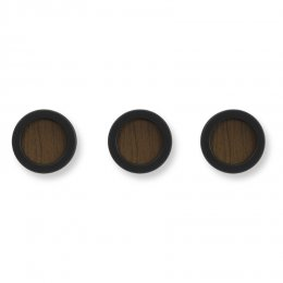 Άγκιστρα Hub wall mounted coat hook black-walnut
