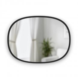 Καθρέπτης Hub Mirror Oval Black 45.7x61 cm Umbra