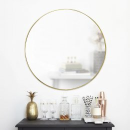 Καθρέπτης Hubba Mirror Brass Ø86.3 cm Umbra